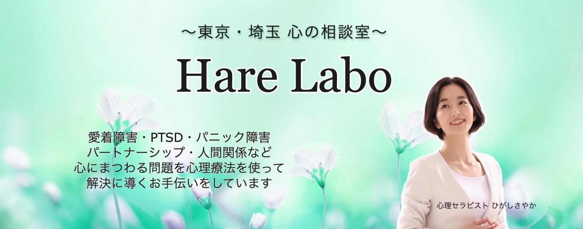 東京・埼玉 心の悩みを根本から解決する「Hare Labo」